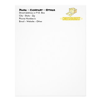 Funny Cheese Letterhead