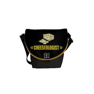 Funny Cheese Messenger Bag