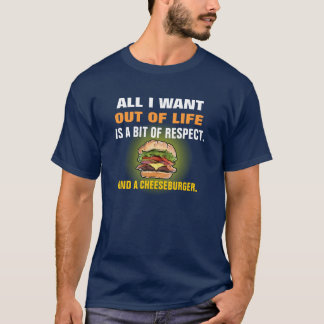 Funny Cheeseburger T-shirt