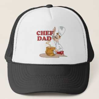 Funny Chef Dad Gifts Trucker Hat