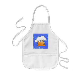 Funny Chef | Funny kitty Chef Kids' Apron