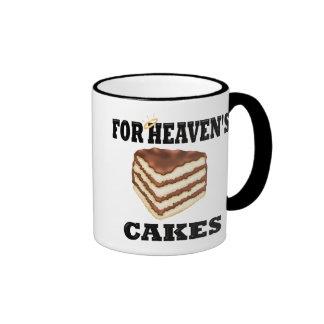 Funny Chef Saying Ringer Coffee Mug