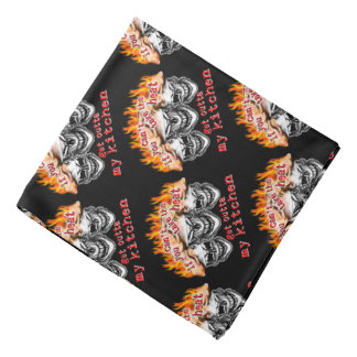 Funny Chef Skulls: If you can't take the heat... Bandana