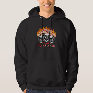 Funny Chef Skulls: If you can't take the heat... Hoodie