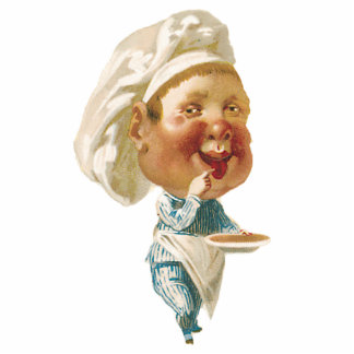 FUNNY CHEF STAND UP DOLL - PHOTO SCULPTURE - GIFTS