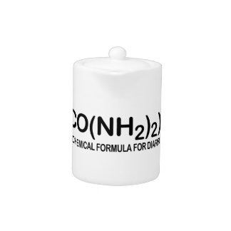 Funny Chemical Formula for Diarrhea Ceramic Pitche