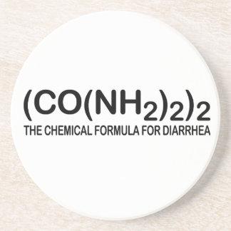 Funny Chemical Formula for Diarrhea Coaster