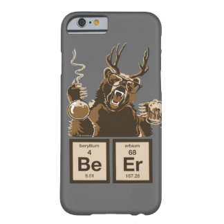 Funny chemistry bear discovered beer barely there iPhone 6 case