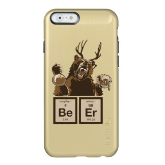 Funny chemistry bear discovered beer incipio feather® shine iPhone 6 case