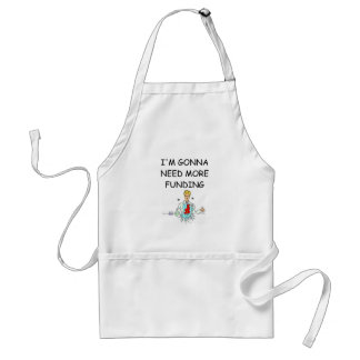 funny chemistry joke adult apron