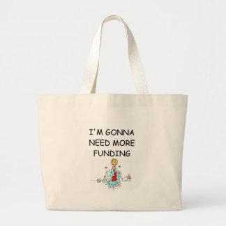 funny chemistry joke tote bags