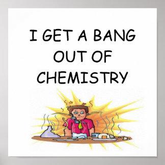 funny chemistry joke poster