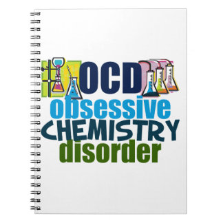 Funny Chemistry Spiral Note Books