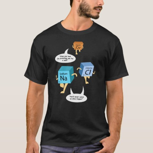 Funny Chemistry Periodic Table Pun T-Shirt