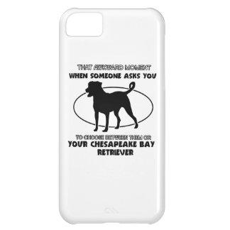 Funny chesapeake bay retriever designs iPhone 5C cover