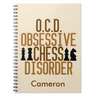Funny Chess Custom Notebook