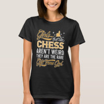 Funny Chess Girl - Chess Lady T-Shirt