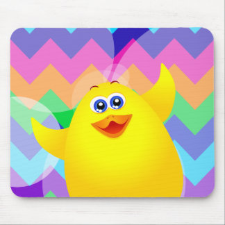 Funny chick, mousepad