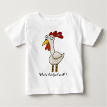 Funny Chicken Baby T-Shirt