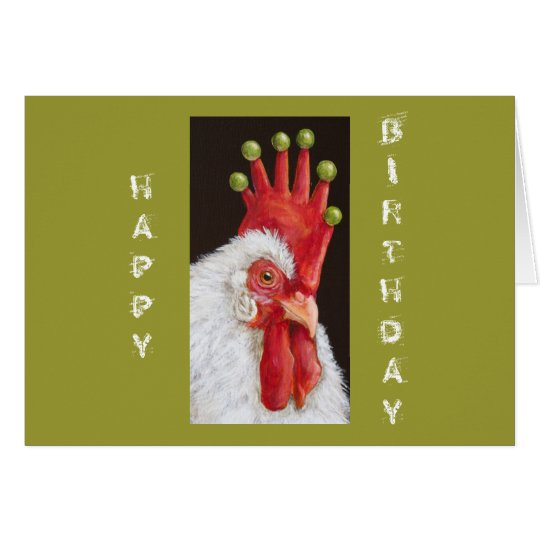 Funny chicken birthday card from all of us zazzle funny chicken birthday card from all of us bookmarktalkfo Choice Image