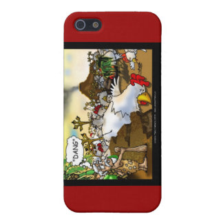 Funny Chicken (Chickasaurus) Mugs Cards Etc Case For iPhone SE/5/5s