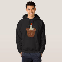 Funny Chicken Pot Pie (Pot Pi) Math Hoodie