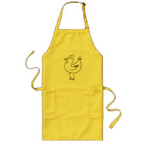 Funny Chicken / Rooster Long Apron