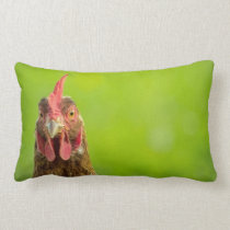 Funny Chicken - Throw Pillow