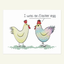 Funny Chicken was an Easter Egg Postcard