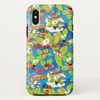 Funny Chico Chihuahua cartoon, crazy faces iPhone X Case