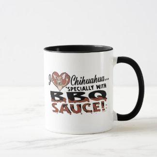 Funny Chihuahua BBQ Mug