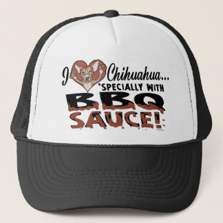 Funny Chihuahua BBQ Trucker Hat
