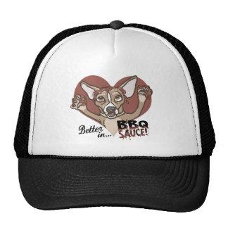 Funny Chihuahua BBQ Trucker Hat