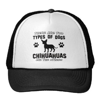 Funny CHIHUAHUA designs Trucker Hat