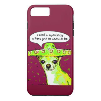 Funny Chihuahua Phone Case - I Killed a Squeaktoy