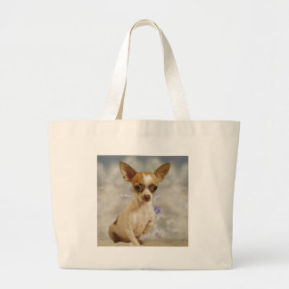 Funny Chihuahua Puppy Cream Brown First Step Bag