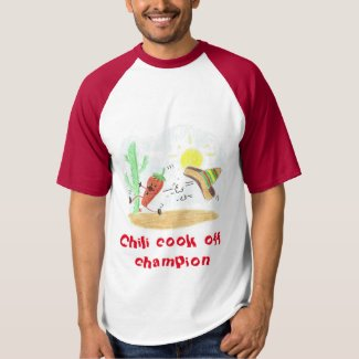funny chili champion t-shirt