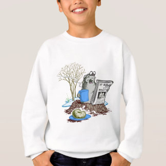 Funny Chillin' Out Groundhog Sweatshirt