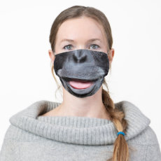 Funny chimpanzee Nose and Mouth Cloth Face Mask