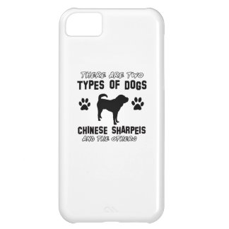Funny chinese sharpei designs case for iPhone 5C