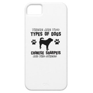Funny chinese sharpei designs iPhone 5 covers