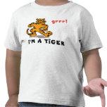 Funny Chinese Zodiac Tiger T-Shirt T Shirts