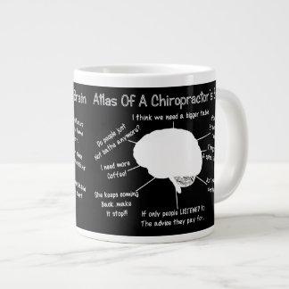 Funny Chiropractor's Brain Mug 20 Oz Large Ceramic Coffee Mug