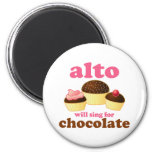 Funny Chocolate Alto Magnet