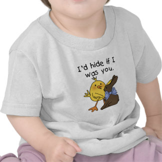 Funny Chocolate Bunny Easter Tshirts and Gifts