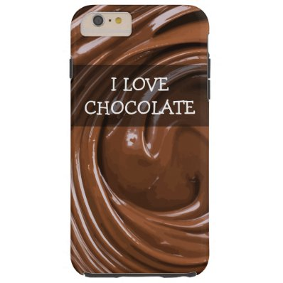 Funny Chocolate Covered Tough iPhone 6 Plus Case
