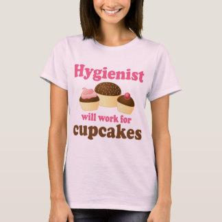 Funny Chocolate Cupcakes Dental Hygienist T-Shirt