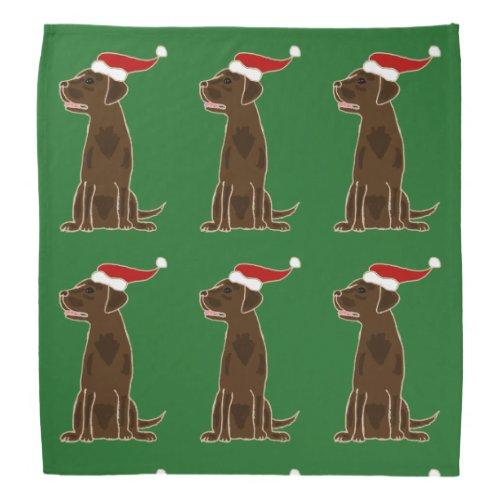 Christmas Bandanas For Dogs