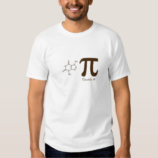 Funny Chocolate Pi Day Shirt