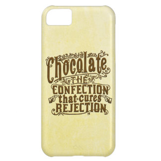 Funny Chocolate Writer Rejection Cure Cover For iPhone 5C